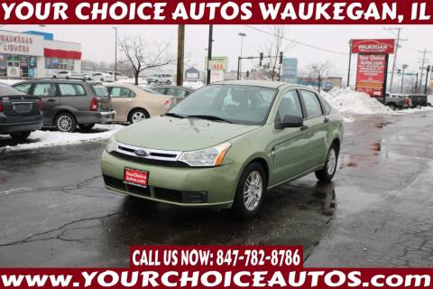 2008 Ford Focus for sale at Your Choice Autos - Waukegan in Waukegan IL