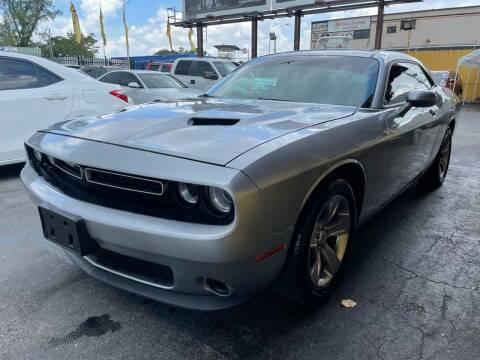 2016 Dodge Challenger for sale at AUTO ALLIANCE LLC in Miami FL
