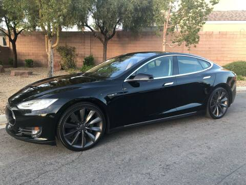 2013 Tesla Model S for sale at LUXE Autos in Las Vegas NV