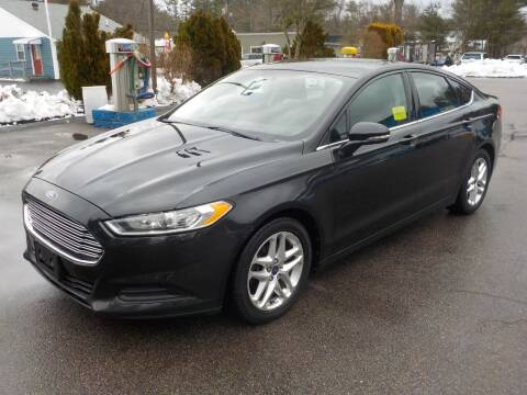 2013 Ford Fusion for sale at RTE 123 Village Auto Sales Inc. in Attleboro MA