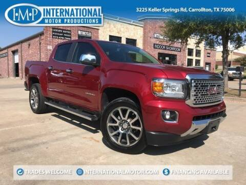 2017 GMC Canyon for sale at International Motor Productions in Carrollton TX
