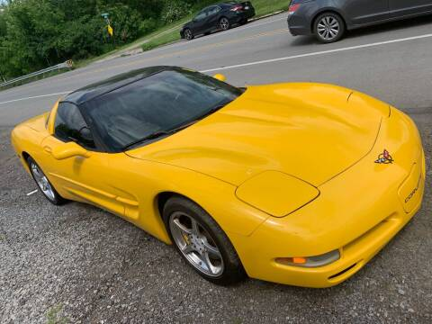 2001 Chevrolet Corvette for sale at Trocci's Auto Sales in West Pittsburg PA