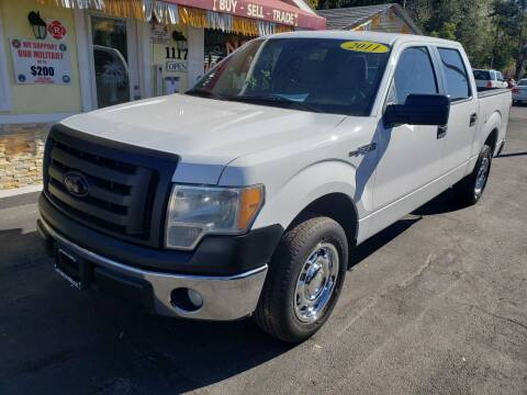 2011 Ford F-150 for sale at ANYTHING ON WHEELS INC in Deland FL