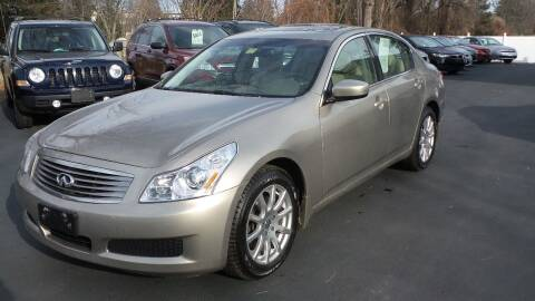 2009 Infiniti G37 Sedan for sale at JBR Auto Sales in Albany NY
