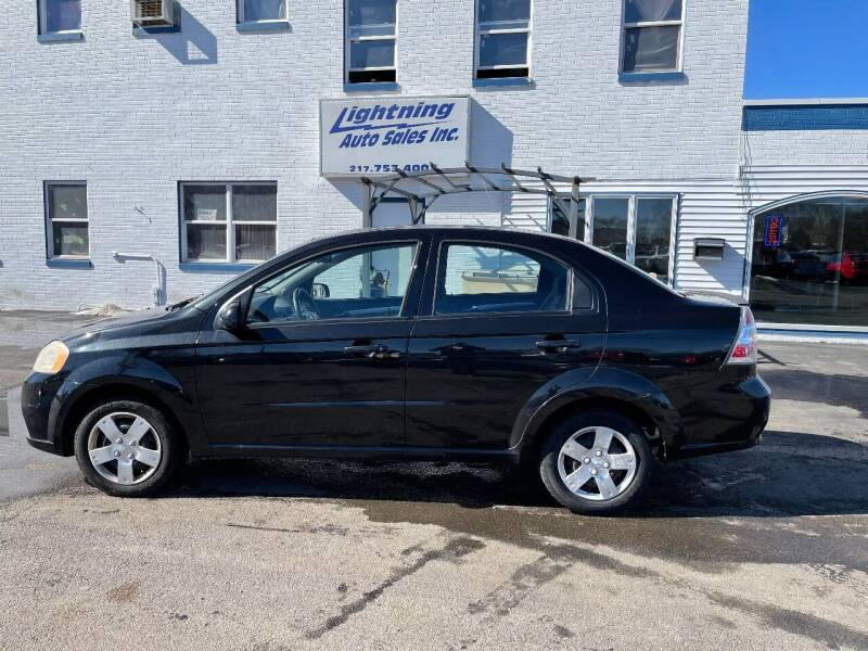 2010 Chevrolet Aveo for sale at Lightning Auto Sales in Springfield IL