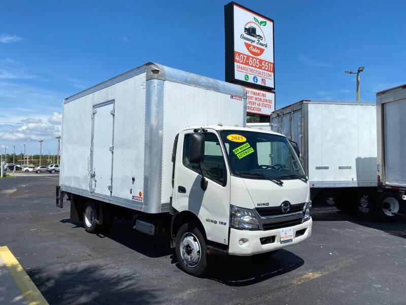 2015 Hino 195 for sale at Orange Truck Sales in Orlando FL