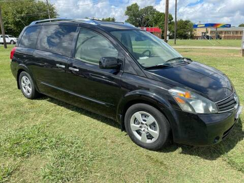 2007 Nissan Quest for sale at Cash Car Outlet in Mckinney TX