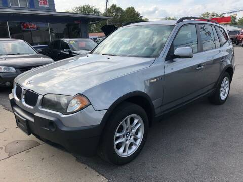 2004 BMW X3 for sale at Wise Investments Auto Sales in Sellersburg IN