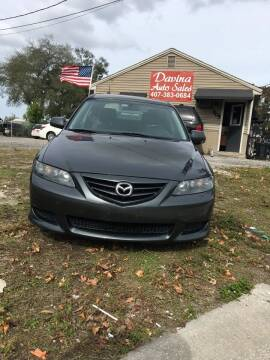 2005 Mazda MAZDA6 for sale at DAVINA AUTO SALES in Orlando FL