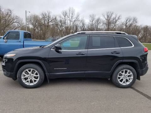 2015 Jeep Cherokee for sale at Pro Auto Sales and Service in Ortonville MN