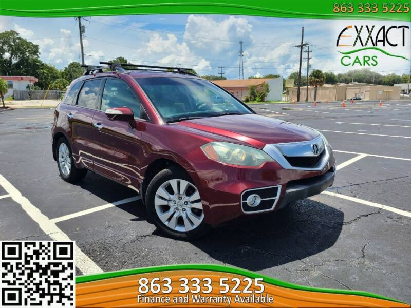 2010 Acura RDX for sale at Exxact Cars in Lakeland FL