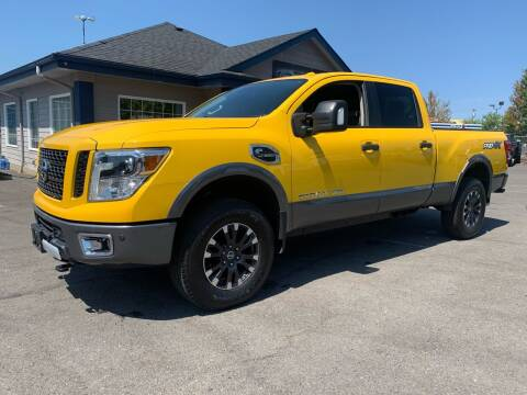 2018 Nissan Titan XD for sale at South Commercial Auto Sales in Salem OR