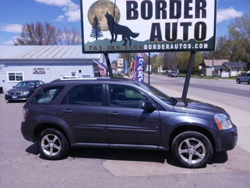 2007 Chevrolet Equinox for sale at Border Auto of Princeton in Princeton MN