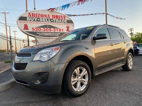 2013 Chevrolet Equinox for sale at Arizona Drive LLC in Tucson AZ