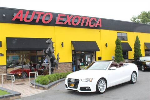 2017 Audi A5 for sale at Auto Exotica in Red Bank NJ
