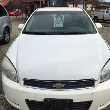 2008 Chevrolet Impala for sale at Simon Automotive in East Palestine OH