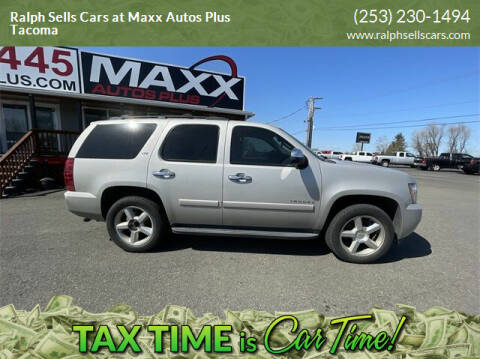 2008 Chevrolet Tahoe for sale at Ralph Sells Cars at Maxx Autos Plus Tacoma in Tacoma WA