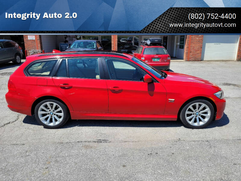 2011 BMW 3 Series for sale at Integrity Auto 2.0 in Saint Albans VT