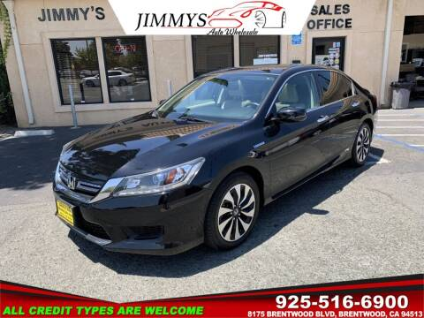2014 Honda Accord Hybrid for sale at JIMMY'S AUTO WHOLESALE in Brentwood CA