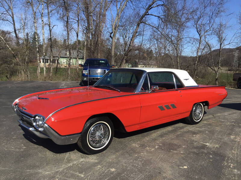 1963 Ford Thunderbird for sale at AFFORDABLE AUTO SVC & SALES in Bath NY