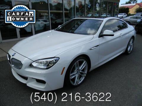 2013 BMW 6 Series for sale at Platinum Motorcars in Warrenton VA