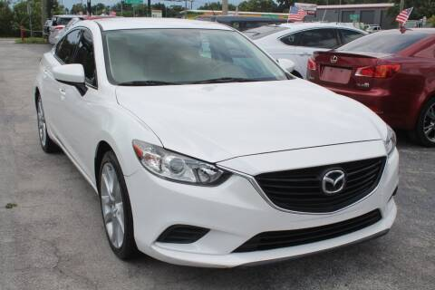 2014 Mazda MAZDA6 for sale at Mars auto trade llc in Kissimmee FL