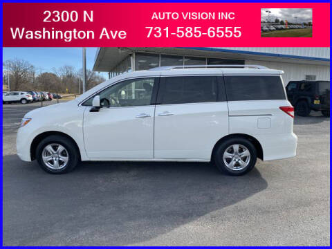 2017 Nissan Quest for sale at Auto Vision Inc. in Brownsville TN