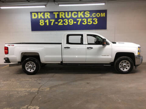 2018 Chevrolet Silverado 3500HD for sale at DKR Trucks in Arlington TX