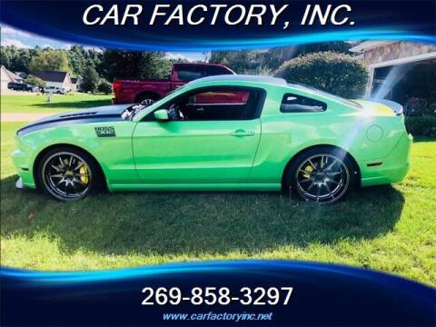2013 Ford Mustang for sale at Car Factory Inc. in Three Rivers MI