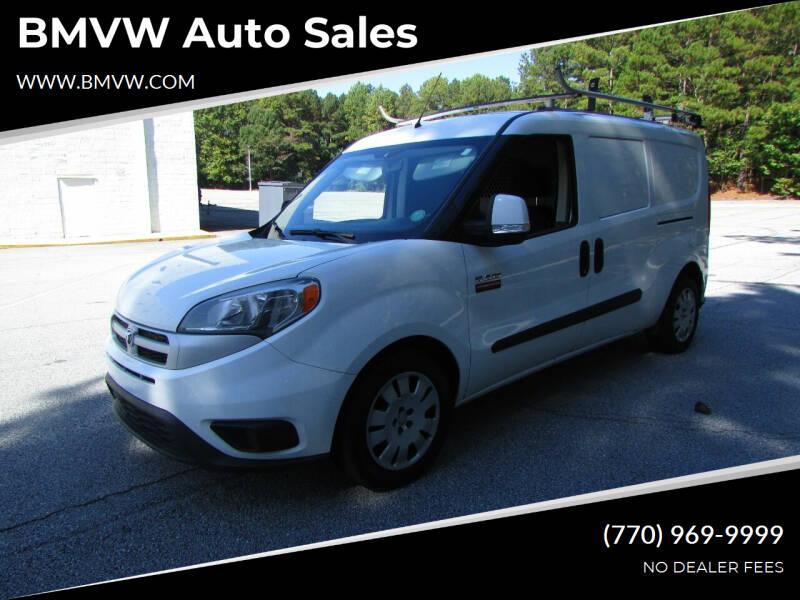 2017 RAM ProMaster City Cargo for sale at BMVW Auto Sales - Trucks and Vans in Union City GA