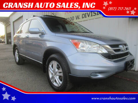 2011 Honda CR-V for sale at CRANSH AUTO SALES, INC in Arlington TX