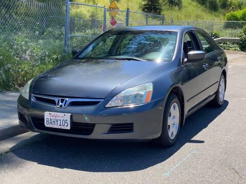 2006 Honda Accord for sale at ZaZa Motors in San Leandro CA