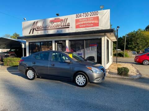2016 Nissan Versa for sale at Mechanicsville Auto Sales in Mechanicsville VA