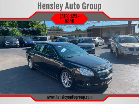 2009 Chevrolet Malibu for sale at Hensley Auto Group in Middletown OH