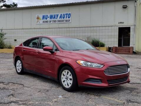2014 Ford Fusion for sale at Nu-Way Auto Ocean Springs in Ocean Springs MS