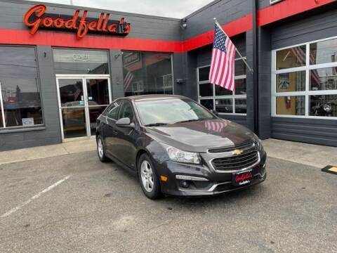 2016 Chevrolet Cruze Limited for sale at Goodfella's  Motor Company in Tacoma WA