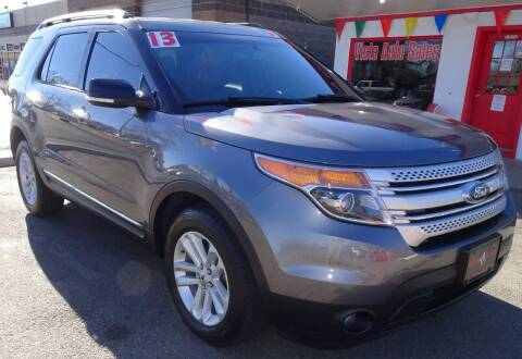 2013 Ford Explorer for sale at VISTA AUTO SALES in Longmont CO