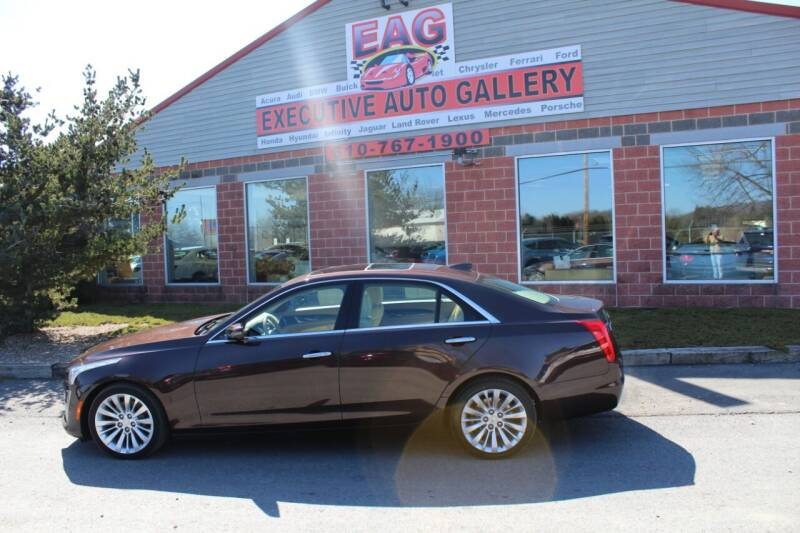 2016 Cadillac CTS for sale at EXECUTIVE AUTO GALLERY INC in Walnutport PA