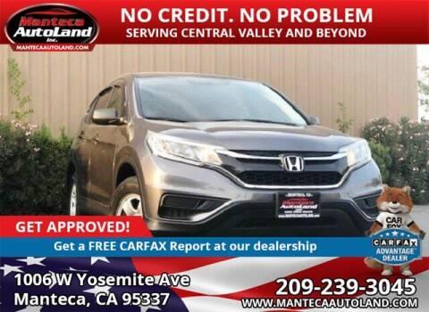 2015 Honda CR-V for sale at Manteca Auto Land in Manteca CA