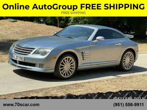 2005 Chrysler Crossfire SRT-6 for sale at Online AutoGroup FREE SHIPPING in Riverside CA