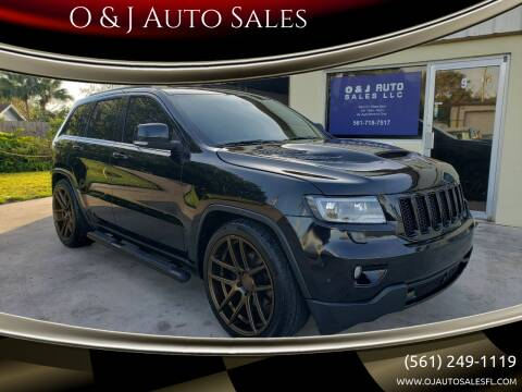 2013 Jeep Grand Cherokee for sale at O & J Auto Sales in Royal Palm Beach FL