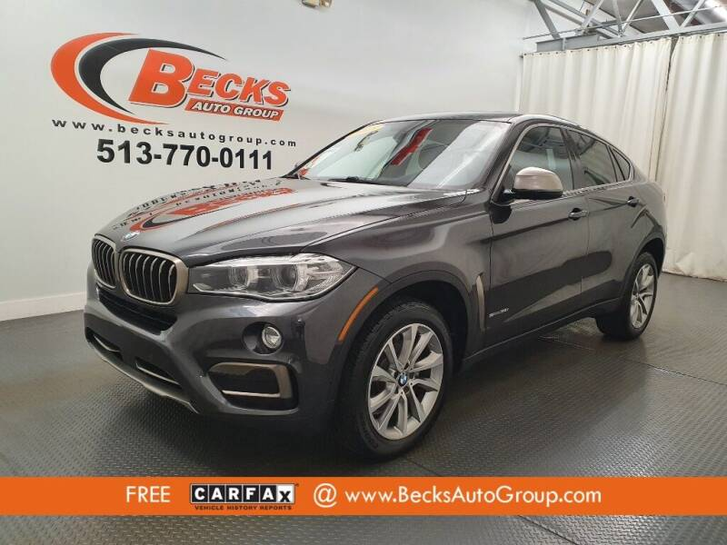 2018 BMW X6 for sale at Becks Auto Group in Mason OH