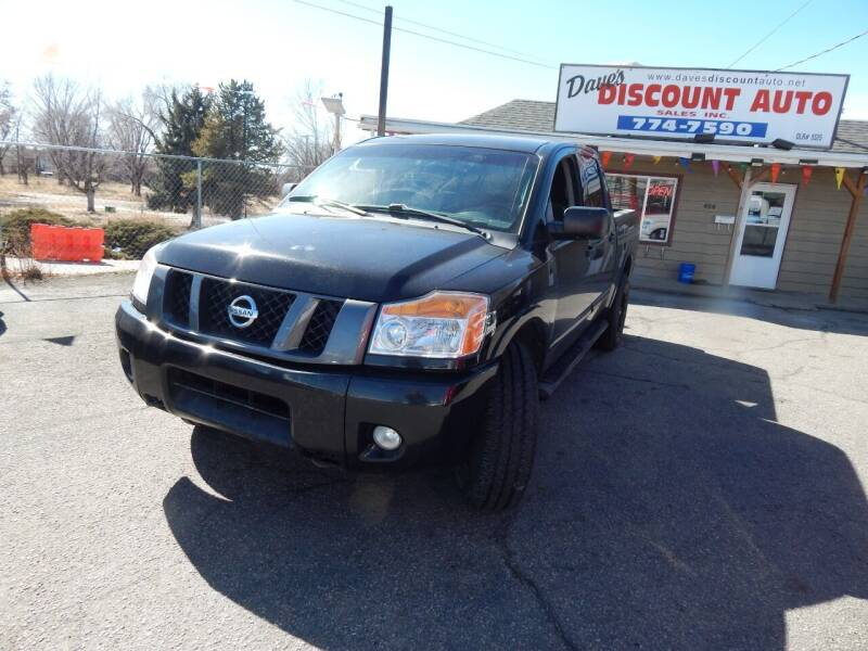 2012 Nissan Titan for sale at Dave's discount auto sales Inc in Clearfield UT