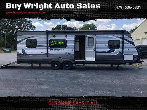 2019 Heartland Prowler for sale at Buy Wright Auto Sales in Rogers AR