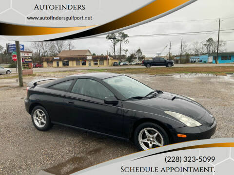 2004 Toyota Celica for sale at Autofinders in Gulfport MS