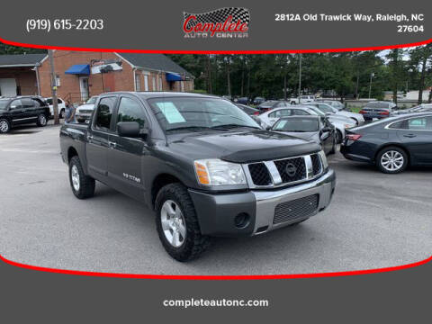 2007 Nissan Titan for sale at Complete Auto Center , Inc in Raleigh NC