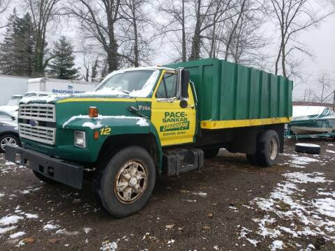 1992 Ford F-700 for sale at COLONIAL AUTO SALES in North Lima OH