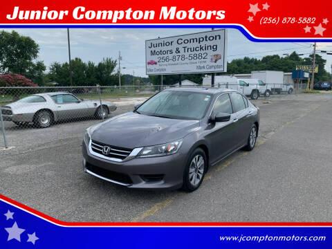 2014 Honda Accord for sale at Junior Compton Motors in Albertville AL