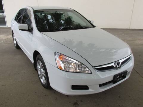 2007 Honda Accord for sale at QUALITY MOTORCARS in Richmond TX