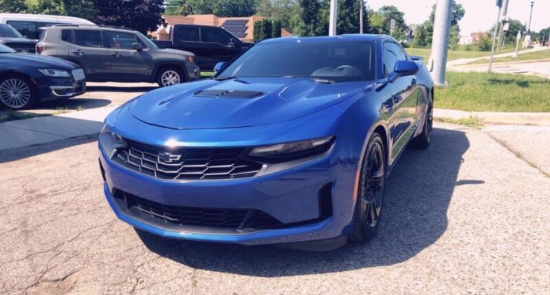 2020 Chevrolet Camaro for sale at One Price Auto in Mount Clemens MI